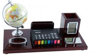 Office Business Desk Dark Brown4