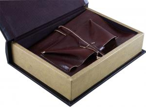 Office storage box & Brown Leather Notebook0