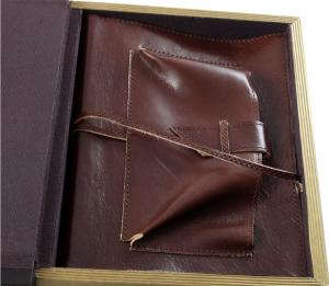 Office storage box & Brown Leather Notebook4