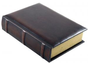 Office storage box & Brown Leather Notebook3