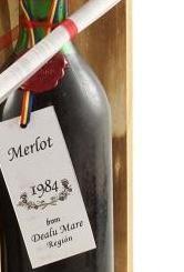 Vin de Colecţie Merlot 1984 [2]