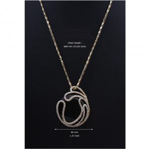 Black Delice Onix Set Medalion si cercei5