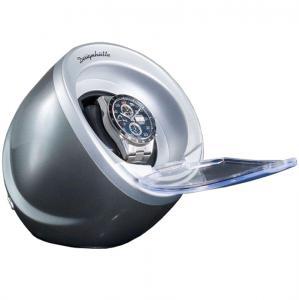 Watch Winder by Designhutte seria Optimus Grey - Made in Germany1