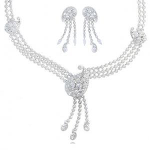 Orhidee Set Medalion, Cercei si Bratara by Borealy0