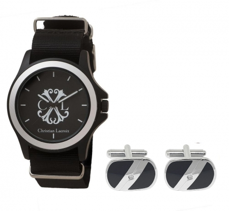 Passion for Watches Set Ceas Christian Lacroix si Silver Stamp