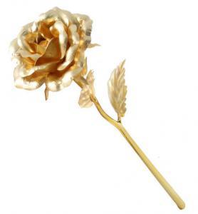 Set LOVE- Trandafir Aur 24k si Colier Mesaj in Cristal3