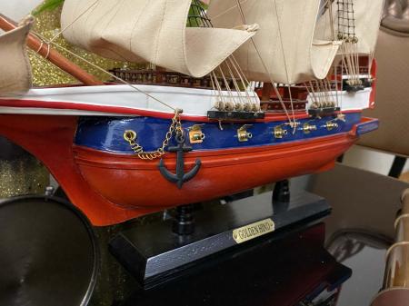 Traveller of the Seas: macheta corabie, luneta functionala, busola alama functionala [7]