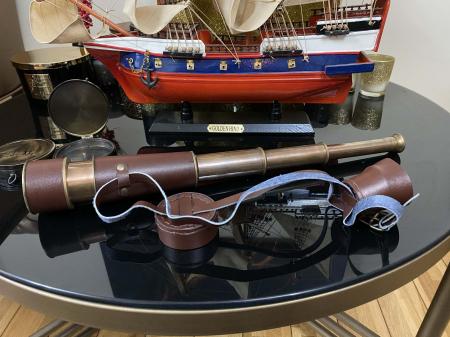 Traveller of the Seas: macheta corabie, luneta functionala, busola alama functionala [5]