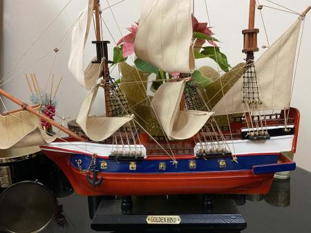 Traveller of the Seas: macheta corabie, luneta functionala, busola alama functionala [6]