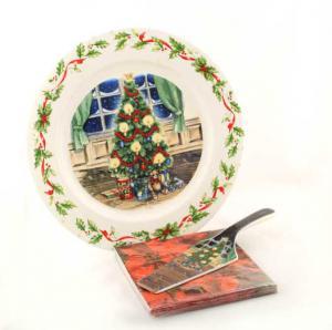 Platou Brad pentru masa de Crăciun [2]
