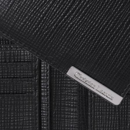 Portofel Christian Lacroix More Money Black piele naturala si Cravata Matase Borealy1