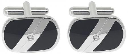 Premium Business Gift Set Mapa Conferinta Hugo Boss A6 si Butoni Silver Stamp2
