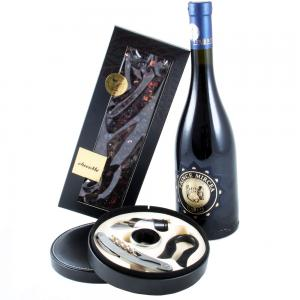 Prince Mircea with Wine Accessories & ChocoMe0