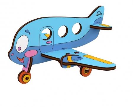 Puzzle din lemn Avion2
