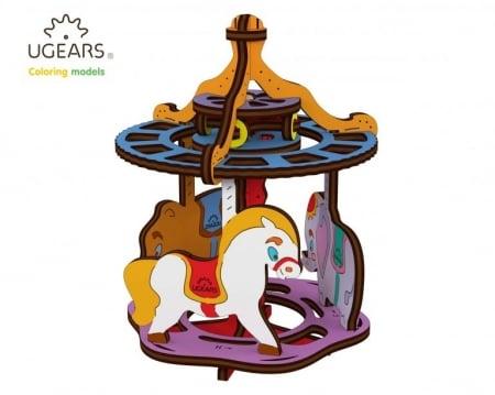 Puzzle din lemn Carousel0