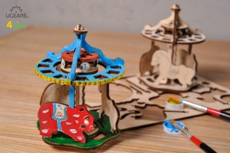 Puzzle din lemn Carousel1