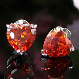 Cercei Borealy Sapphire Heart Red3