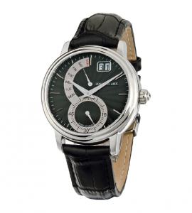 Retrograde Watch Black&Silver Jos von Arx2