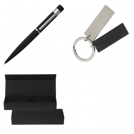 Set Roller Hugo Boss Black & Key Ring [7]
