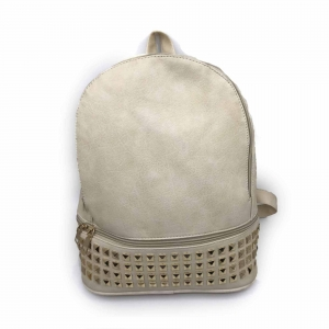 Rucsac dama Borealy, Charming Neutral, din piele ecologica0