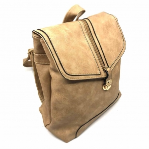 Rucsac dama Borealy, Minimal Chic, din piele ecologica1