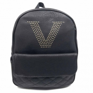 Rucsac dama Borealy, Victory Style, din piele ecologica0