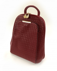 Rucsac Piele Coco Mademoiselle Rouge1