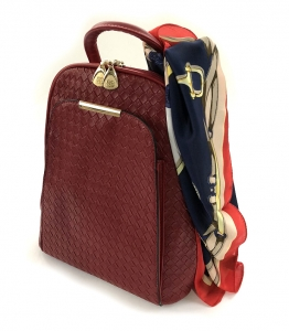 Rucsac Piele Coco Mademoiselle Rouge0
