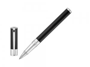 S.T. Dupont D-Initial Roller Noir&Chrome