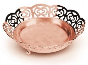 Bol placat cu aur roz Sera Alioth by Chinelli, made in Italy