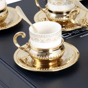 Serviciu de Cafea 6 Persoane Gold Plated by Chinelli - made in Italy [3]