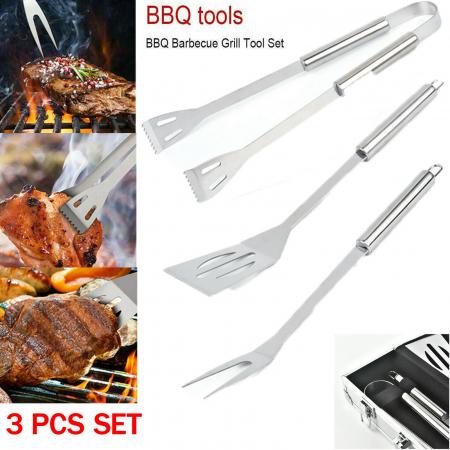Set 3 ustensile pentru grătar Barbeque5