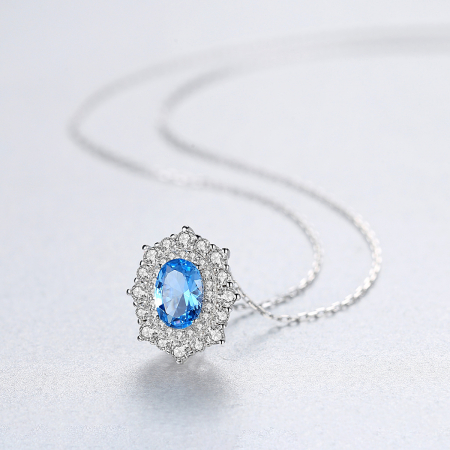 Set Cercei Colier Royal Topaz Blue8