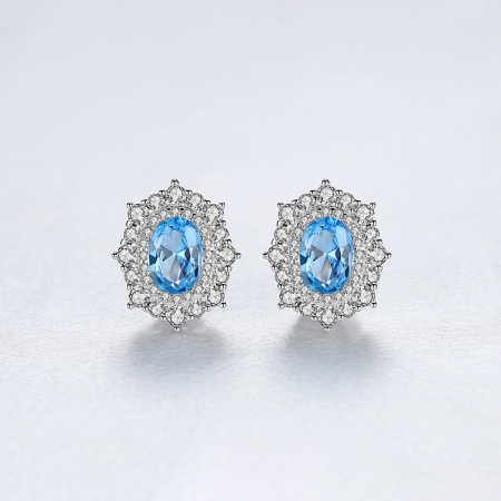 Set Cercei Colier Royal Topaz Blue5