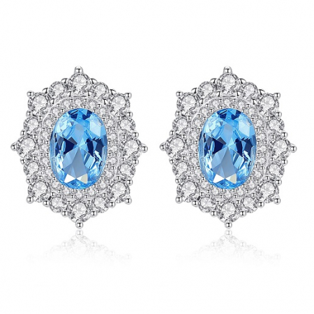 Set Cercei Colier Royal Topaz Blue3