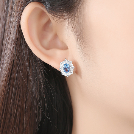 Set Cercei Colier Royal Topaz Blue1