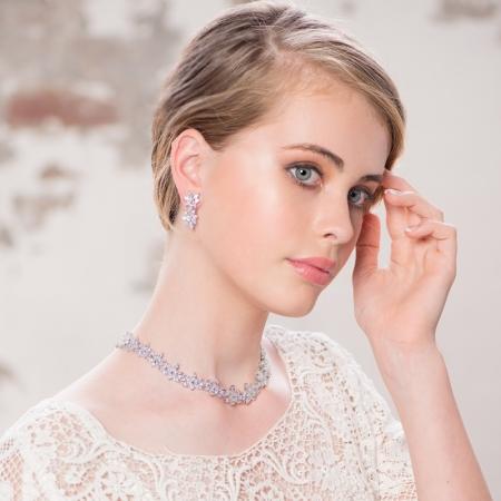 Set Cercei şi Colier Luxury Wedding Borealy1