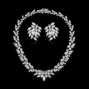 Set Cercei şi Colier Luxury Bridal Borealy1