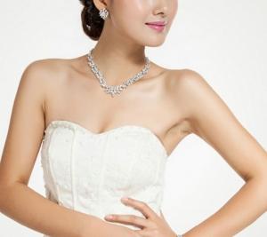 Set Cercei şi Colier Luxury Bridal Borealy7