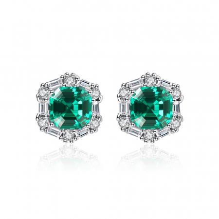 Set Colier şi Cercei Regina Emerald3