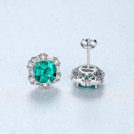 Set Colier şi Cercei Regina Emerald6