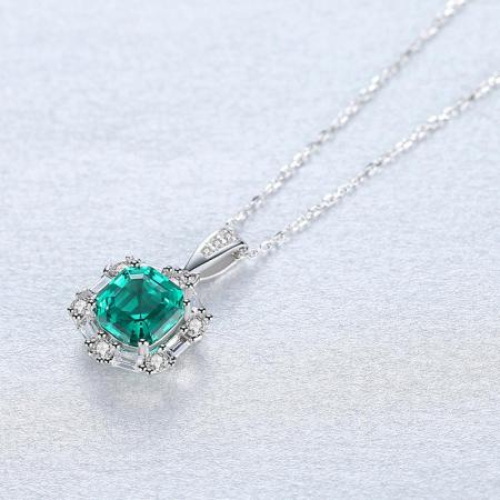 Set Colier şi Cercei Regina Emerald4