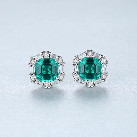 Set Colier şi Cercei Regina Emerald5