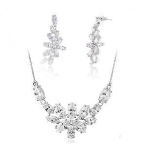 Set Borealy Crystals Colier si Cercei Delice Luxury0