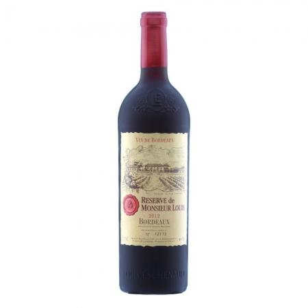 Set de vin Sommelier Cerruti 1881 & Vin Bordeaux Desk8
