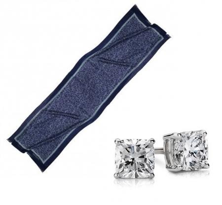 Set Esarfa Giverny Blue Cacharel & Cercei Borealy One Diamond Square Princess5