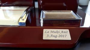 Set multifunctional pentru birou Antique Mahogany cu 8 accesorii13