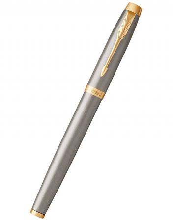 Caseta cadou Pix & Roller Parker Accesorii Aur 23 kt. Brushed Metal si Note Pad Hugo Boss - personalizabil7