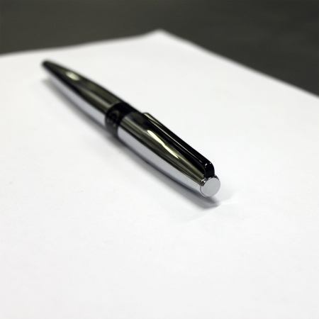 Set  Frank Chrome (ballpoint pen & rollerball pen) Cerruti 1881 & Butoni Elegant Round Silver6