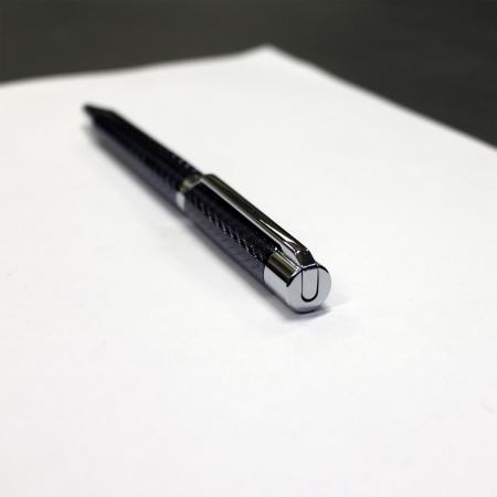 Set Business Ballpoint & Rollerball pen Cerruti 1881 & Butoni Elegant Round Silver3